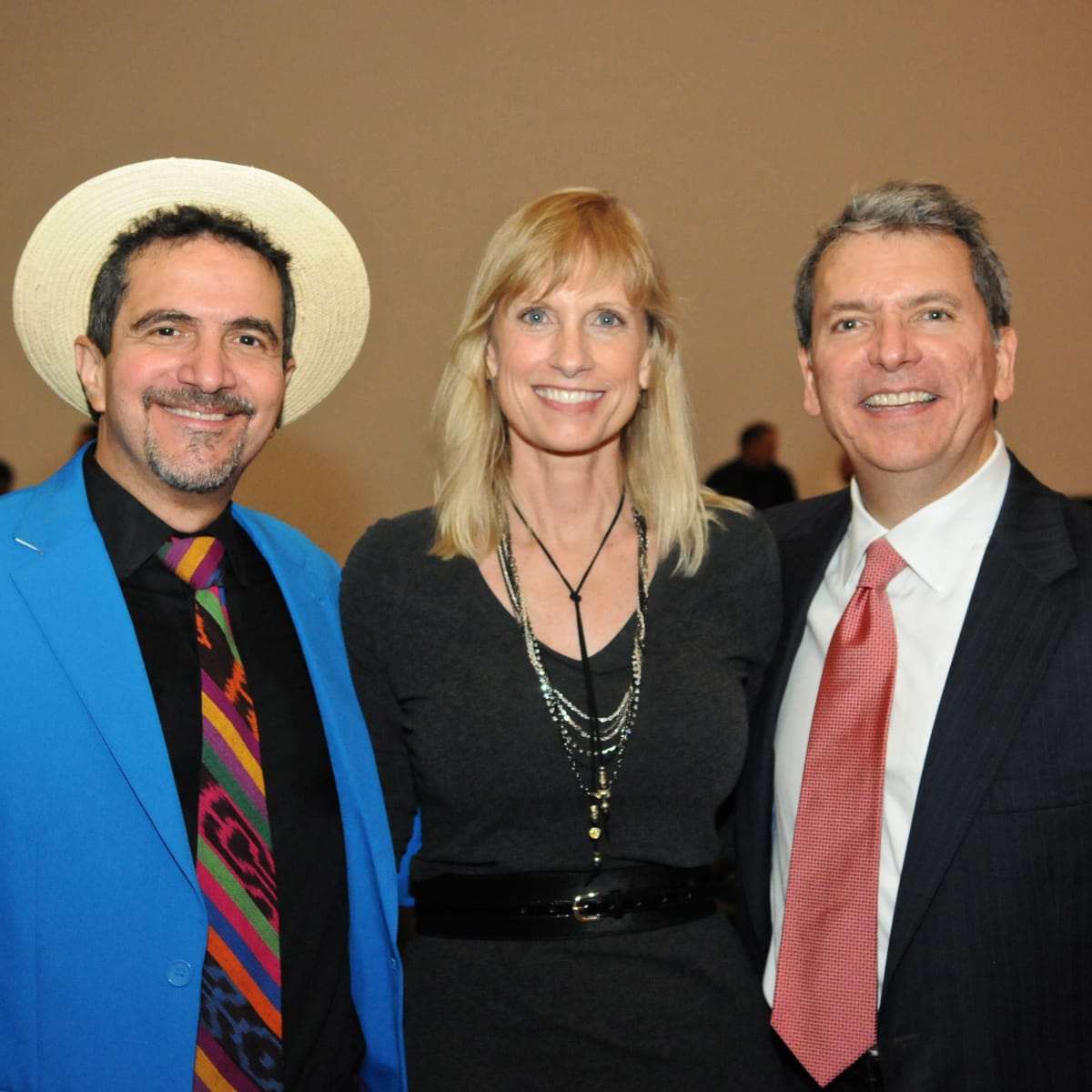 News, Shelby, Mayor's Hispanic Heritage Awards, Oct. 2015, Walter Suhr, Karen Garcia, Roland Garcia