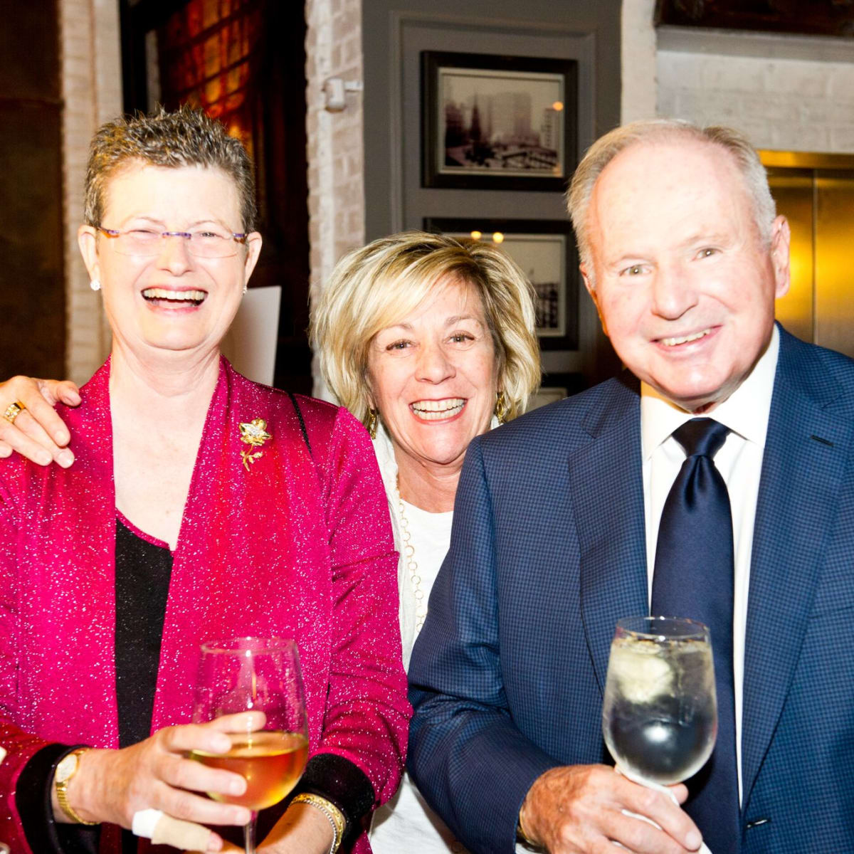 Houston, Friends for Life Among Friends gala, October 2015, Carolyn Levy, Chris Sanders, Don Sanders