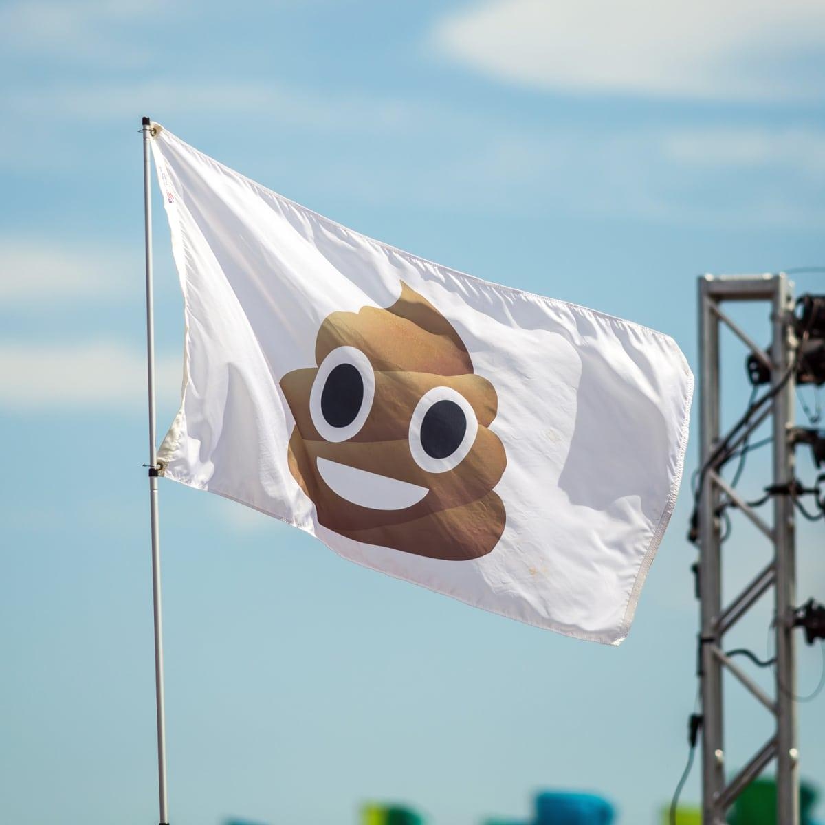 Austin City Limits Festival ACL 2015 Weekend One Best Signs Best Flags Poop Emoji