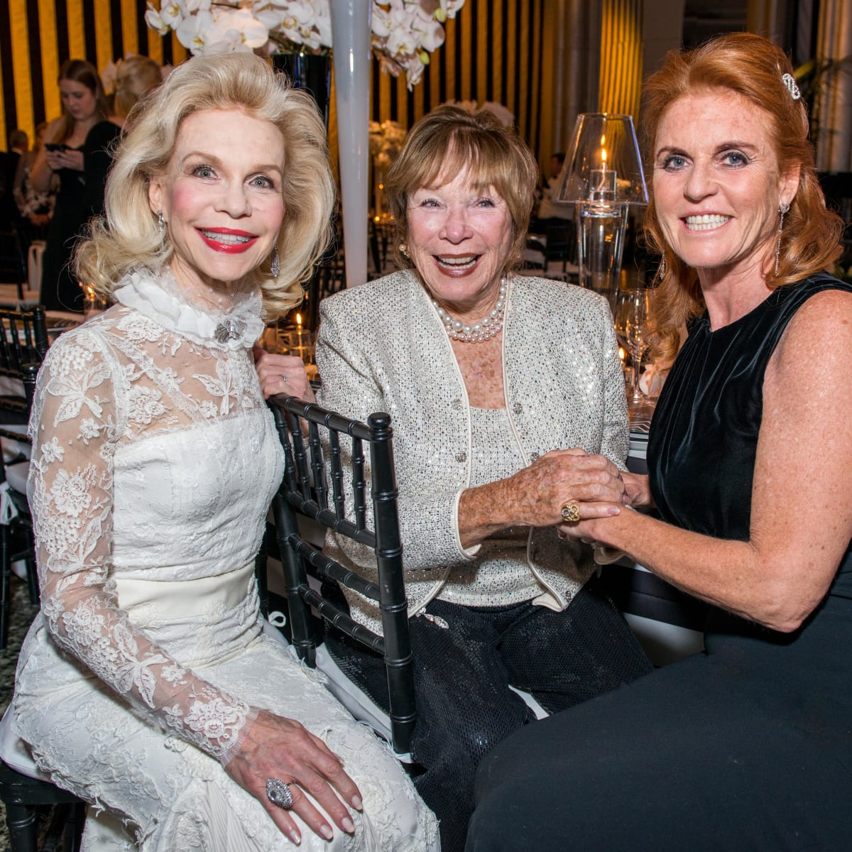 News, Shelby, Museum of Fine Arts gala, Oct. 2015, Lynn Wyatt, Shirley McClain, Duchess of York