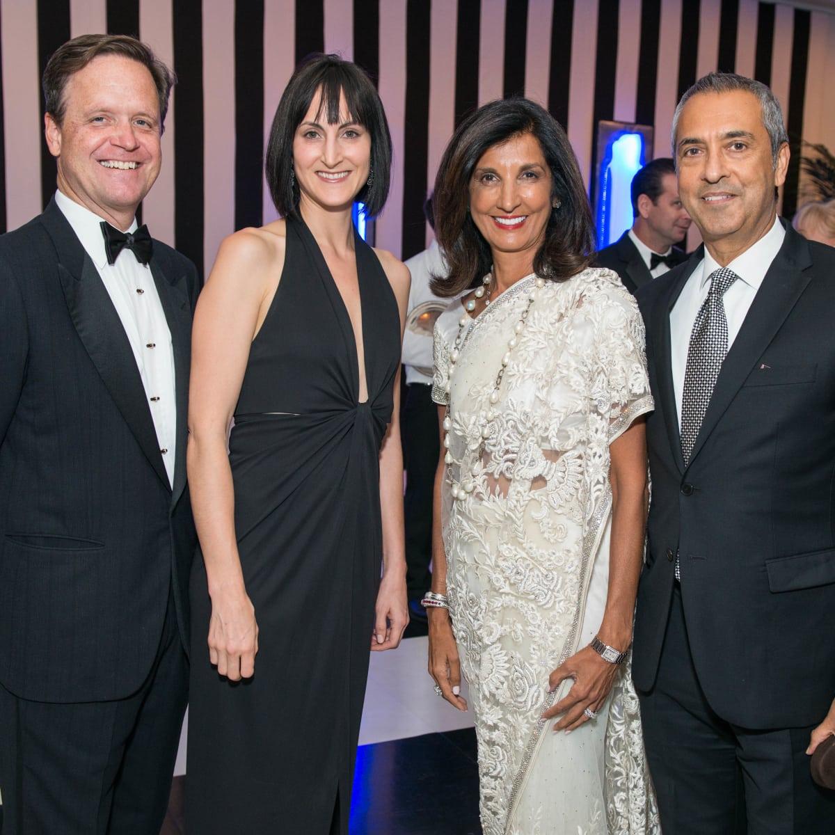 News, Shelby, Museum of Fine Arts gala, Oct. 2015,Christopher Gardner, Emily Church, Sultana & Moez Mangalji