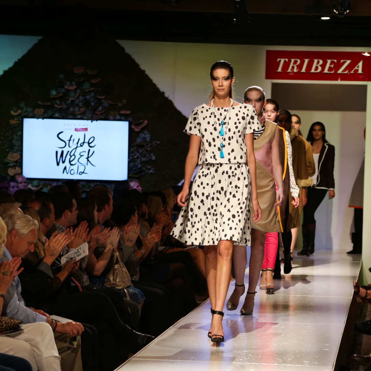 Tribeza Fashion Show 2015 at Brazos Hall