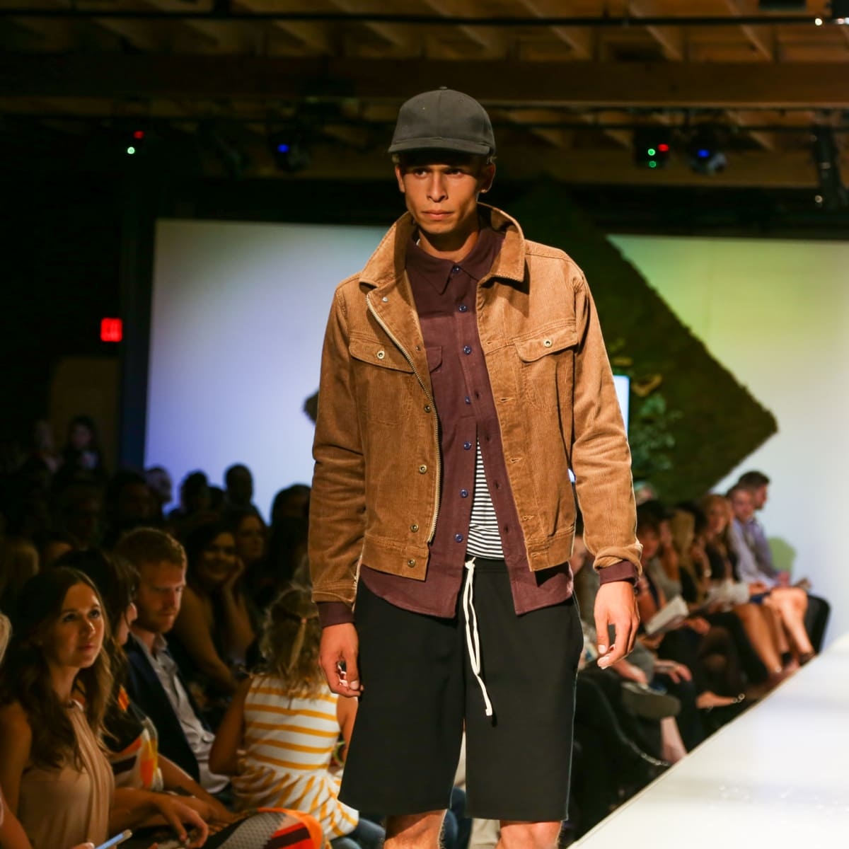 Tribeza Fashion Show 2015 at Brazos Hall Service Menswear