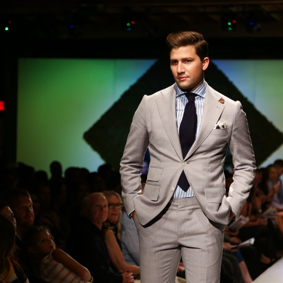Tribeza Fashion Show 2015 at Brazos Hall Andre Phillipe