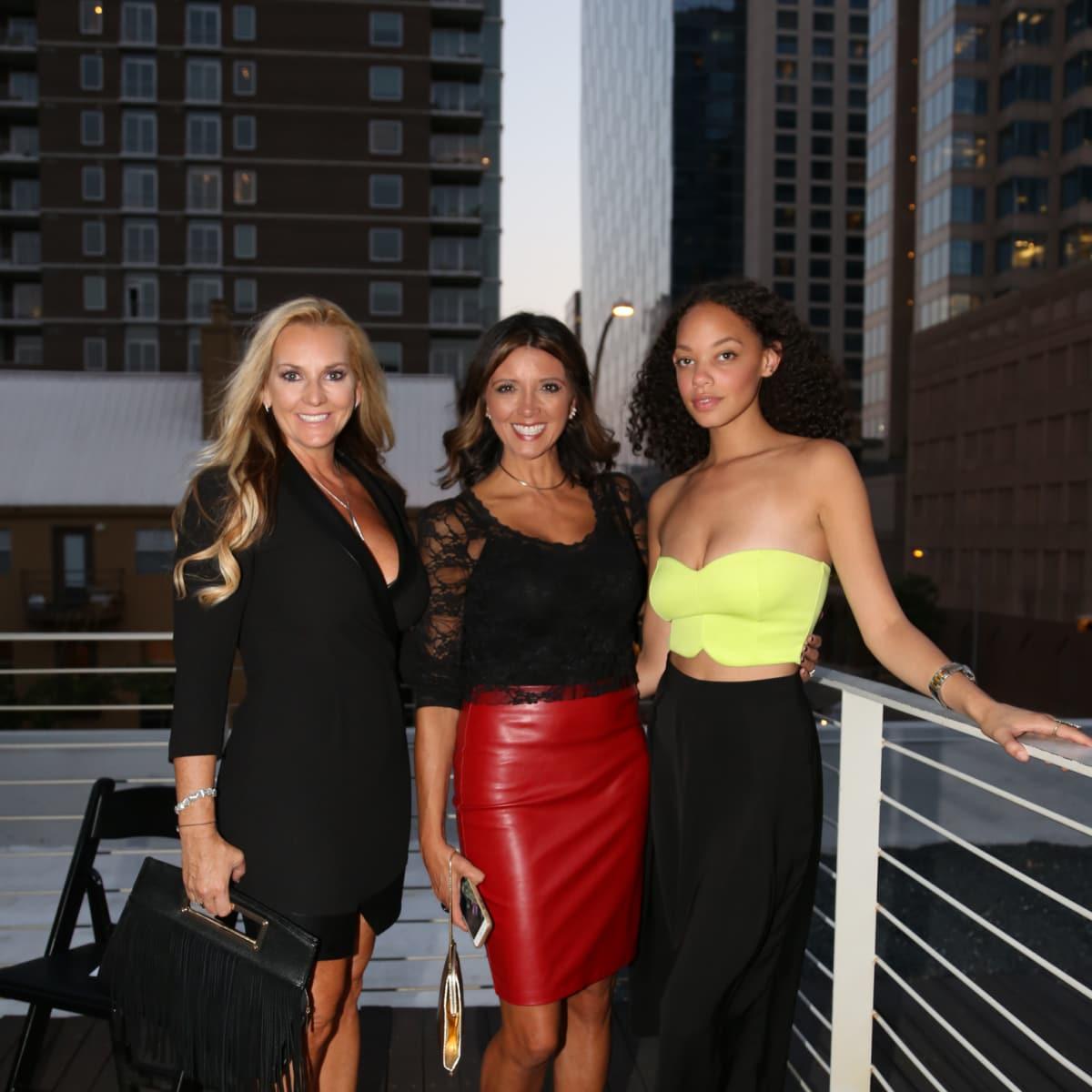 Tribeza Fashion Show 2015 at Brazos Hall Denise Bodman Lori Davidson Jazmine Guillor