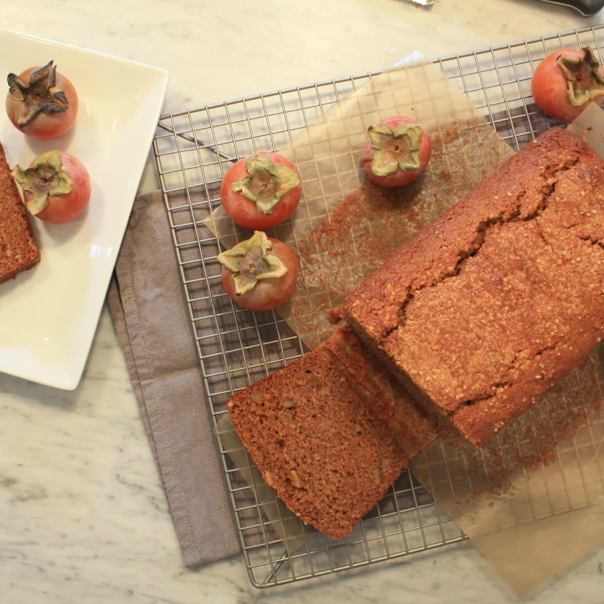Erin O'Leary Stwewart persimmon tea cake