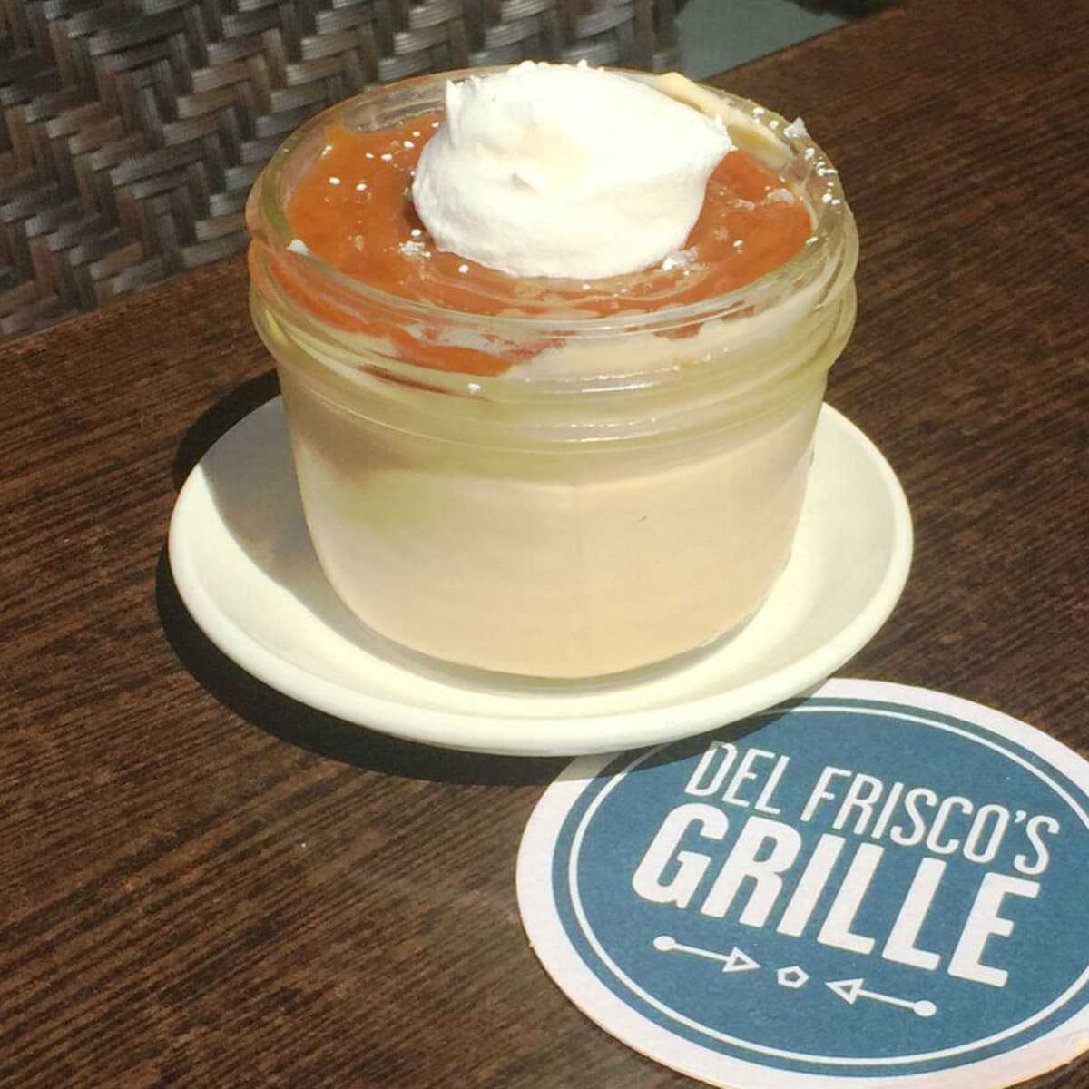 Del Frisco's Grille butterscotch pudding