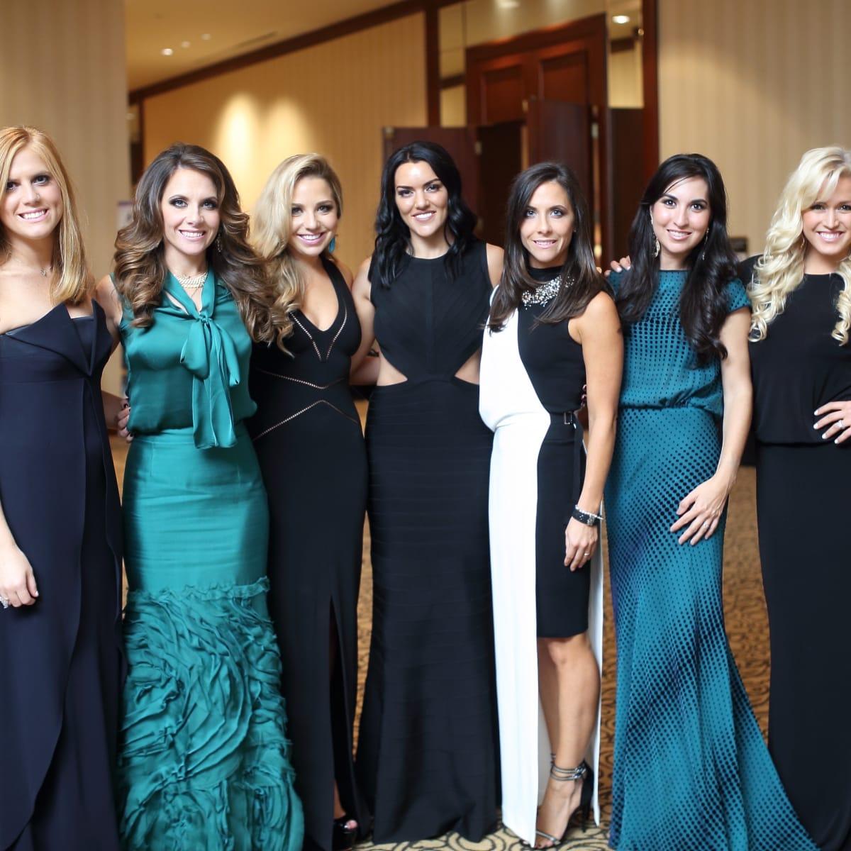 Big Brothers Big Sisters gala 2015 Amber Heartland, JoAnna Marks, Bria Wall, Megan Cushing, Hannah McNair, Alexandra Ochoa, Erica Graham