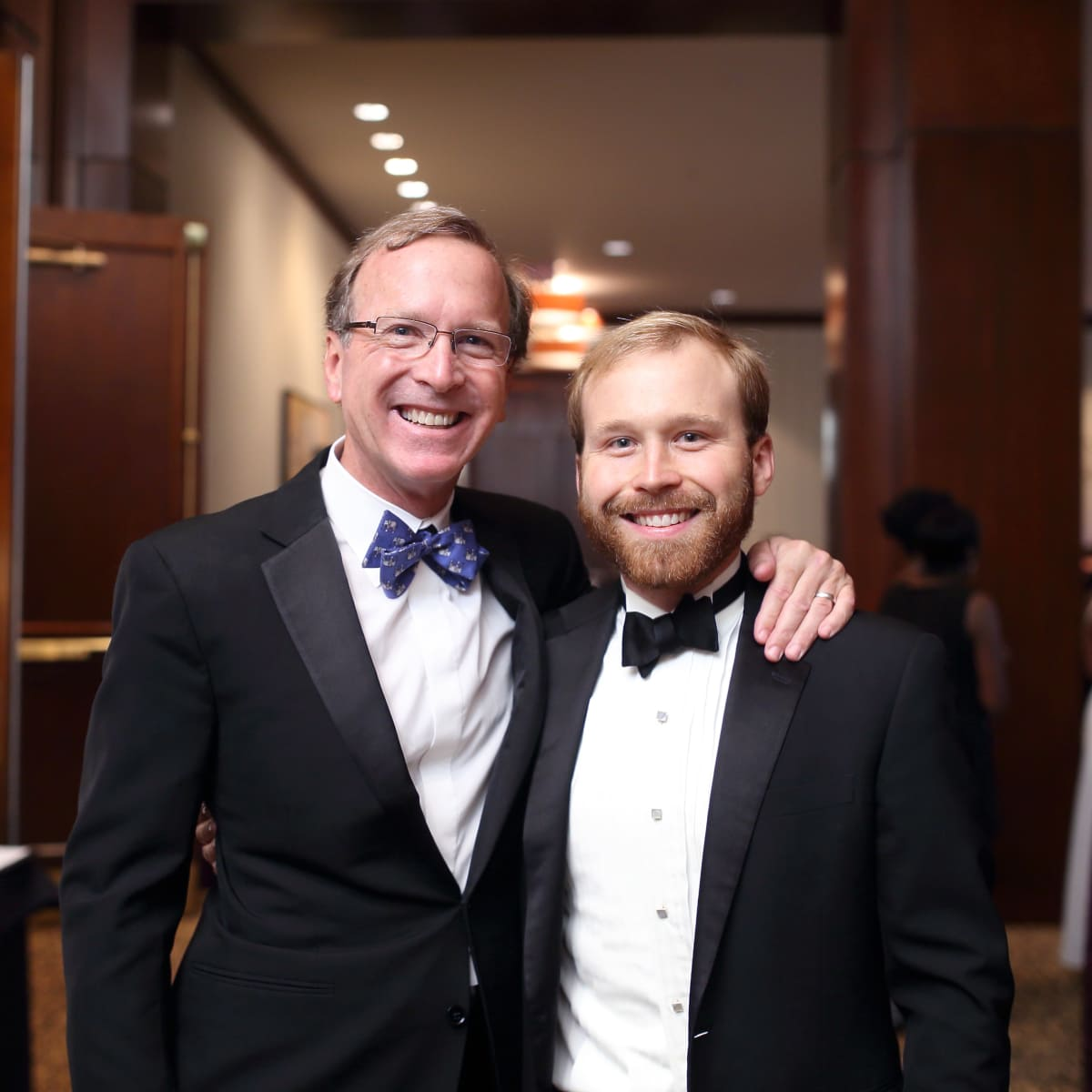 Big Brothers Big Sisters gala 2015 Neil Bush and Pierce Bush