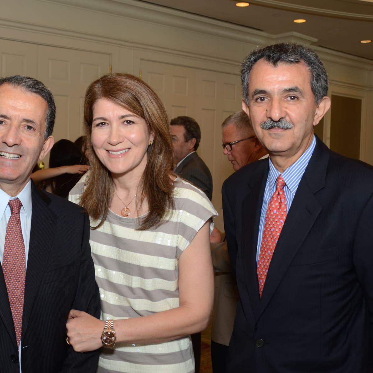 PDAP event Sept 2015 Zin & Nora Zmati, Chair Ali Saberioon