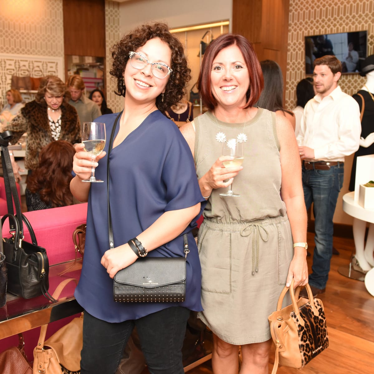 Elaine Turner 15th Anniversary Estrella Rivas and Stacy Cartier