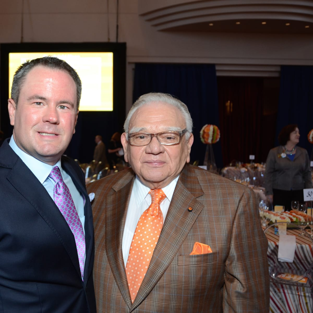 News, shelby, Legacy luncheon, Sept. 2015, Bryan Hlavinka, Frank Campisi
