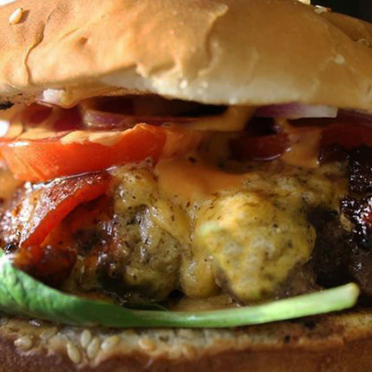Luke's Inside Out Cheeseburger