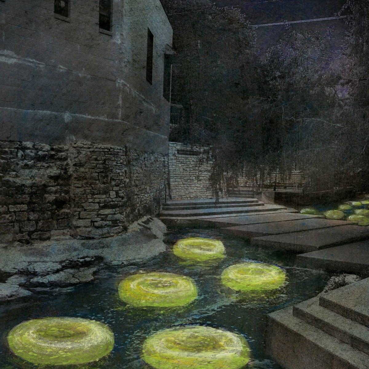 Waller Creek Show 2015 Floating the Waller Ten Eyck Landscape Architects rendering 2