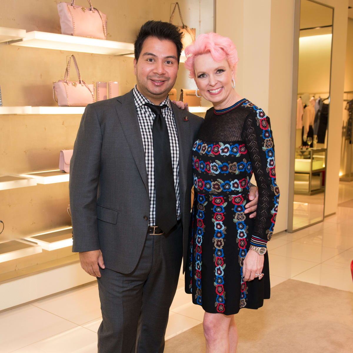 News, Shelby, Heart of Fashion Valentino party, Sergio Morales, Vivian Wise