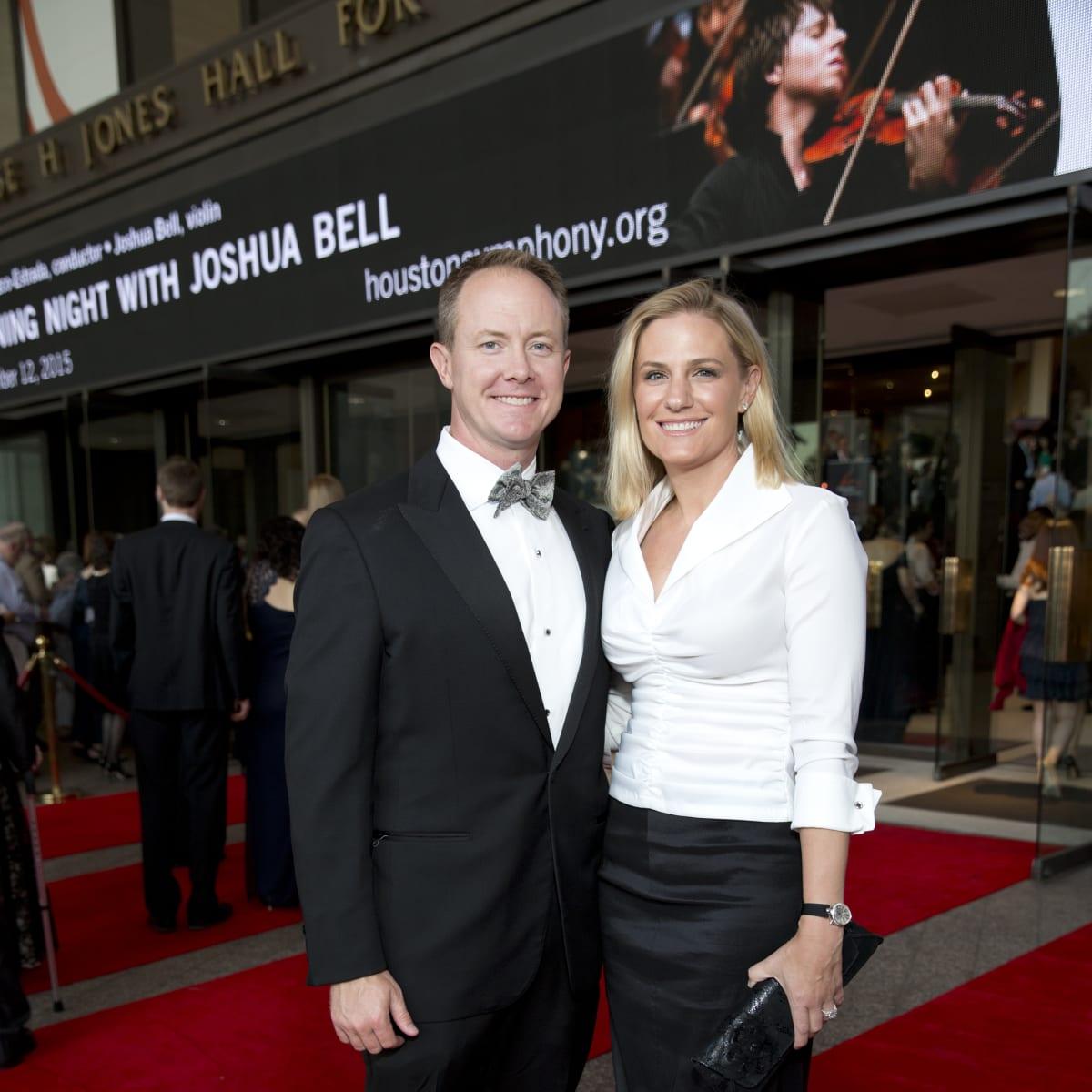 News, Shelby, Houston Symphony Opening Night, Sept. 2015, Billy McCartney, Christie McCartney