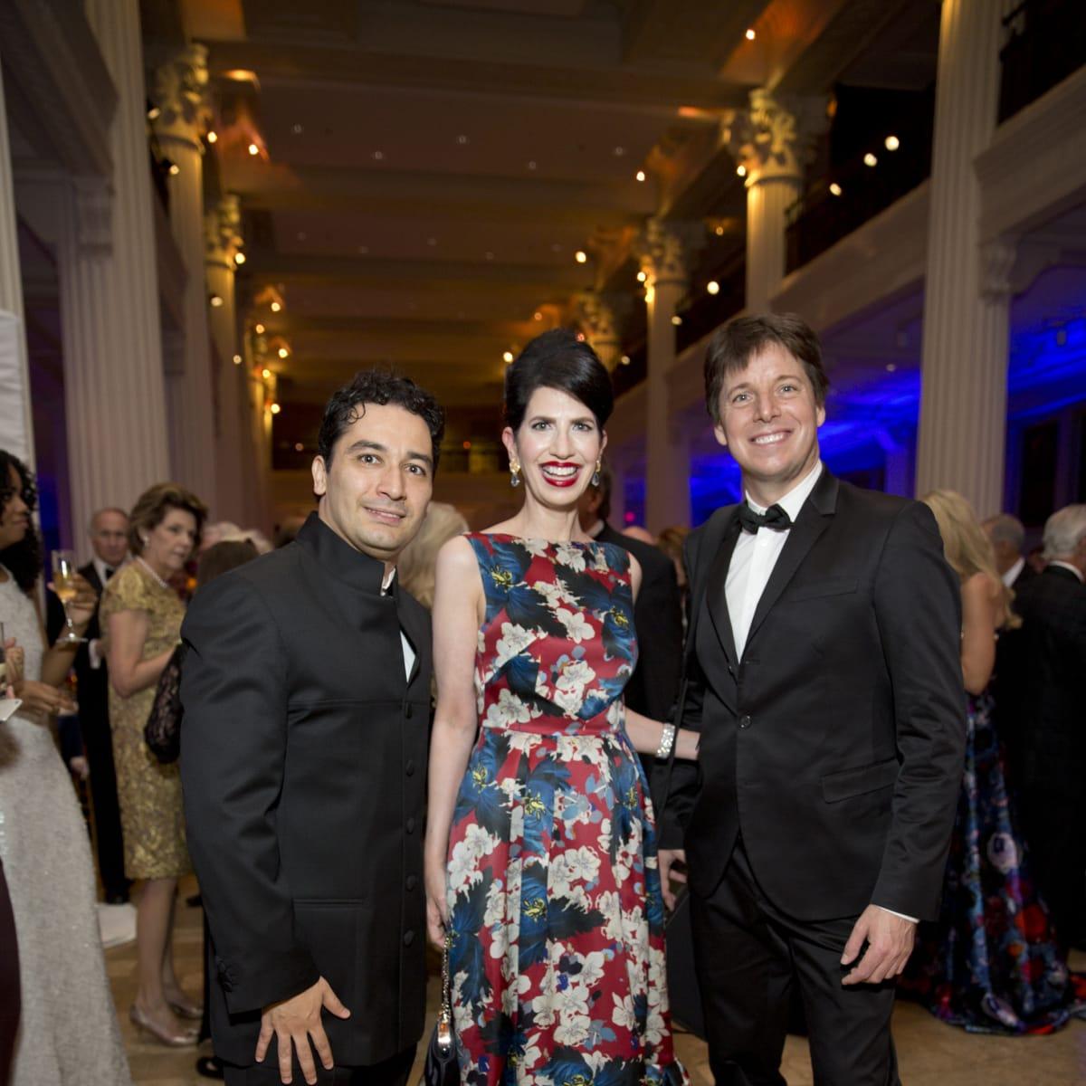 News, Shelby, Houston Symphony Opening Night, Sept. 2015, Andres Orozco-Estrada, Kelli Cohen Fein, Joshua Bell