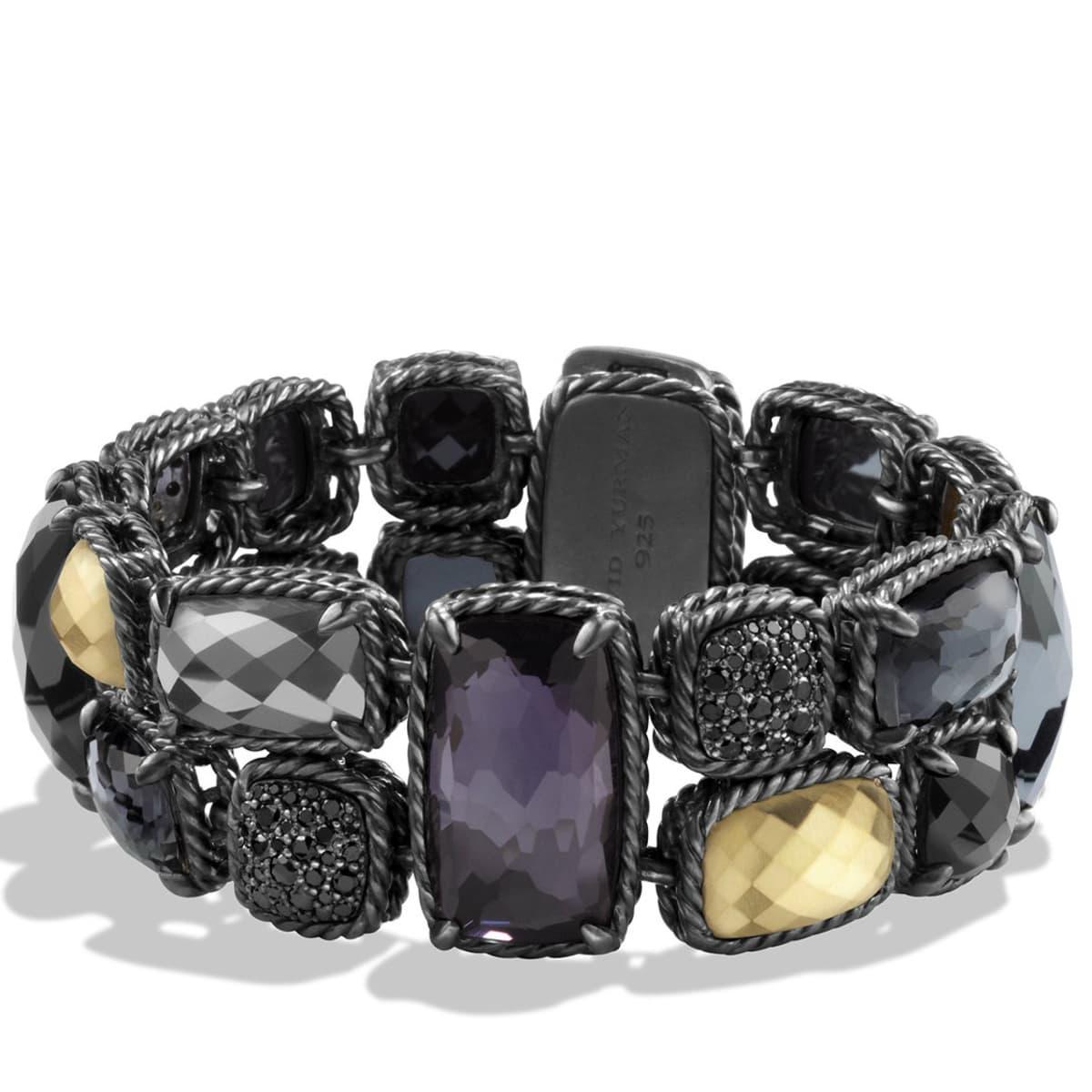 David Yurman Midnight Ice collection bracelet
