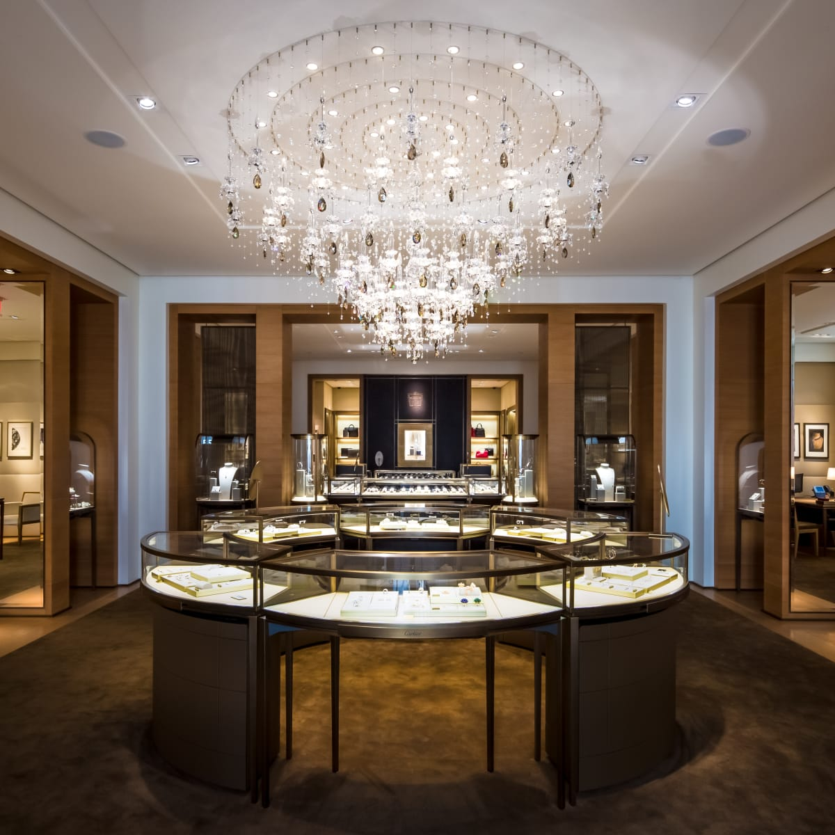 Cartier in River Oaks District interior