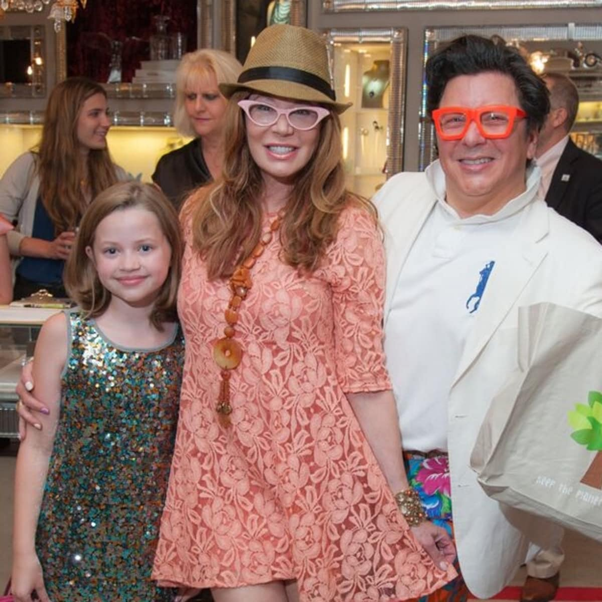News, Shelby, Alex Martinez Back to School event, Aug. 2015, Charlotte Murry, Cindi Rose, JMichael Soliz