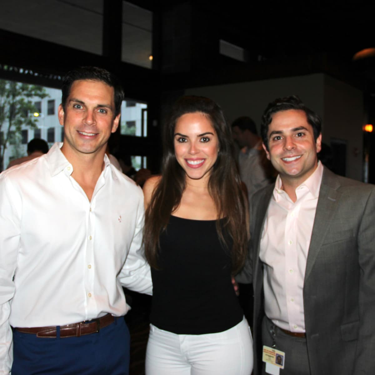 Houston, Friends of Depelchin Back to School Happy Hour, August 2015, Caleb Bynum, Mandy Ramirez, Marc Eichenbaum