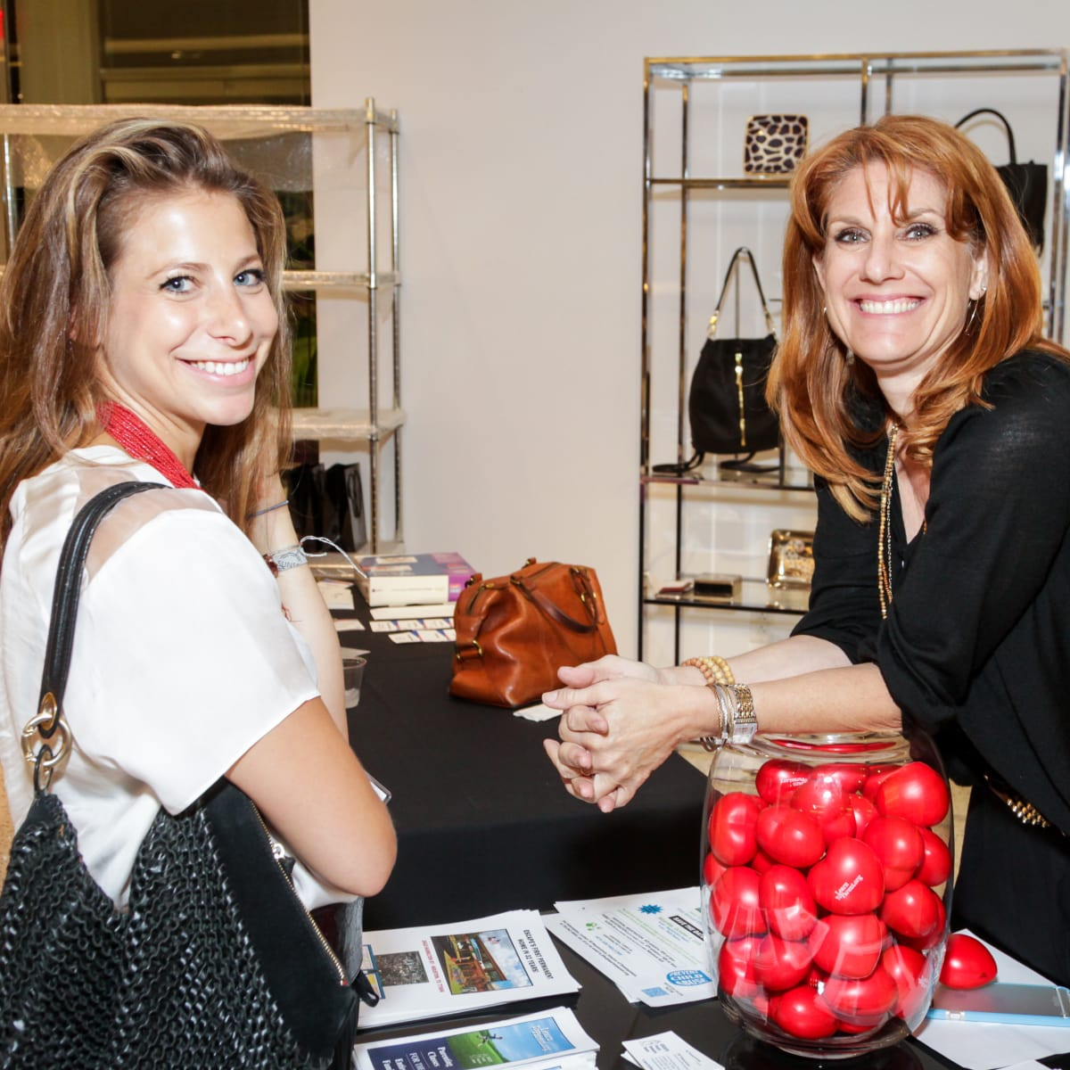 Houston, Ellevate event at Tootsies, August 2015, Rachel Tenenbaum, Jill Wasserstrom