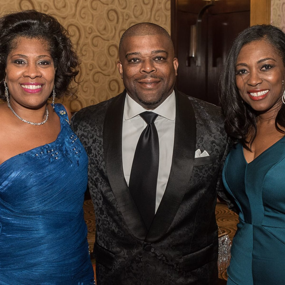 News, Shelby, Ensemble Theatre gala, Aug. 2015, Diedra Fontaine, Terrence Fontaine