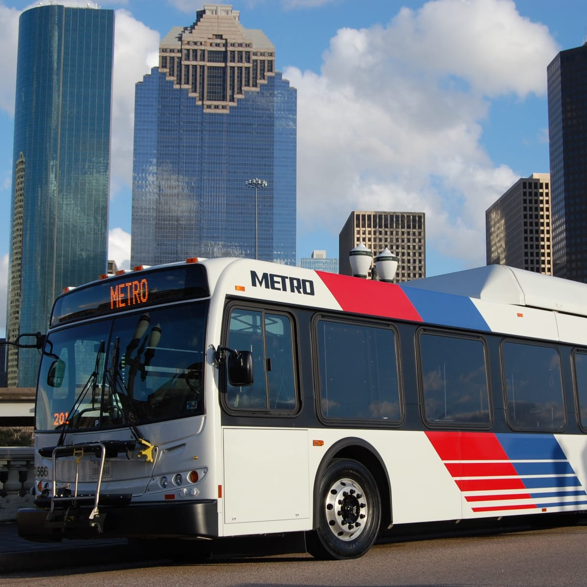 METRO bus Houston skyline CROP