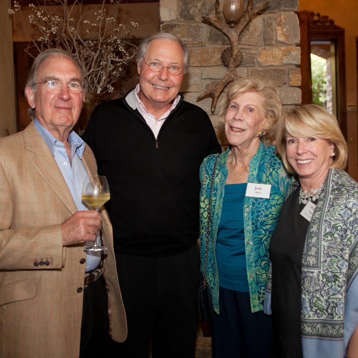 Houston, St. Luke's Foundation Summer Speaker Series Aspen, August 2015, Charles Ofner, Gary Crum, Judy Allen, Marie Wise