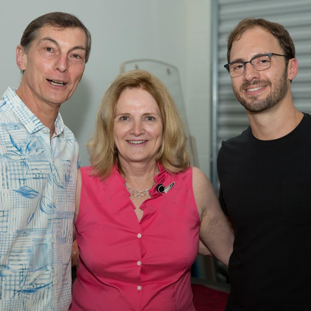 News, Shelby, Opera in the Heights party, August 2015,  Tony Tripodo, Marcia Feldman, Michael Raak