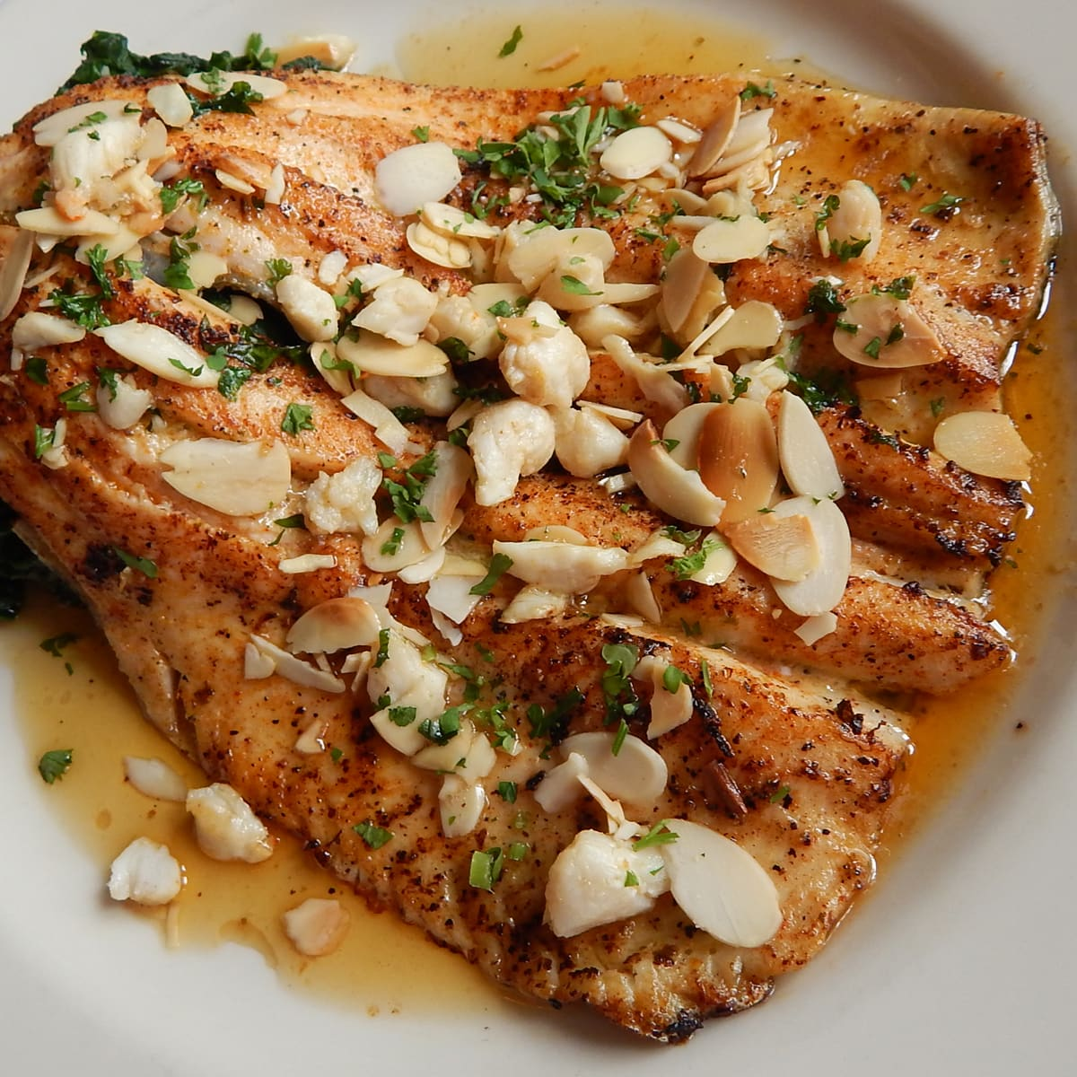 Tony Mandola's Trout Almondine