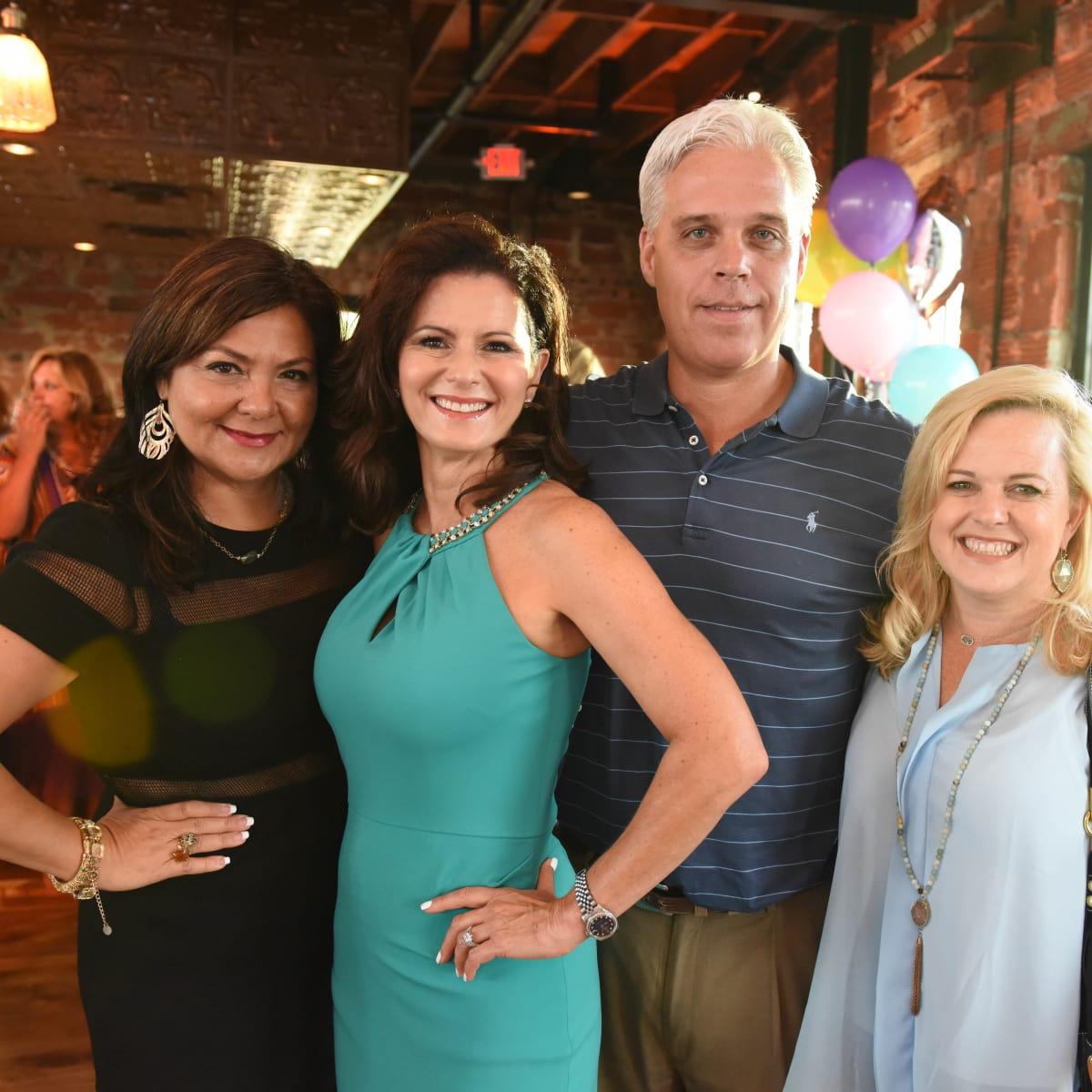 News, Shelby, Peter Remington 60th birthday, August 2015, Antigone Vastakis, Cynthia Jones, Mike & Beth Harp