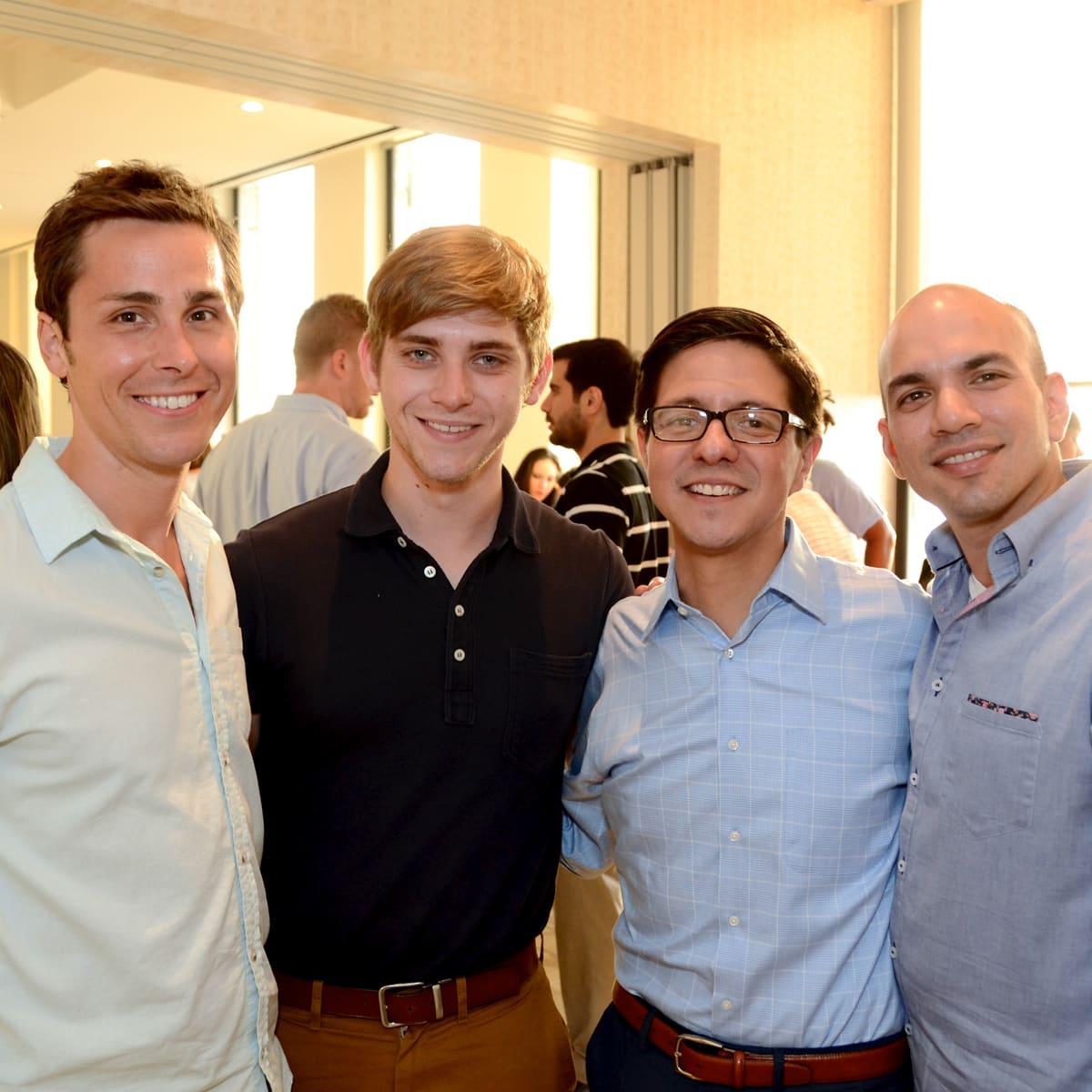 YP Zoo Aug 2015 Brandon Weinbrenner, Mitchell Greco, Nick Espinosa, Carlos Meltzer