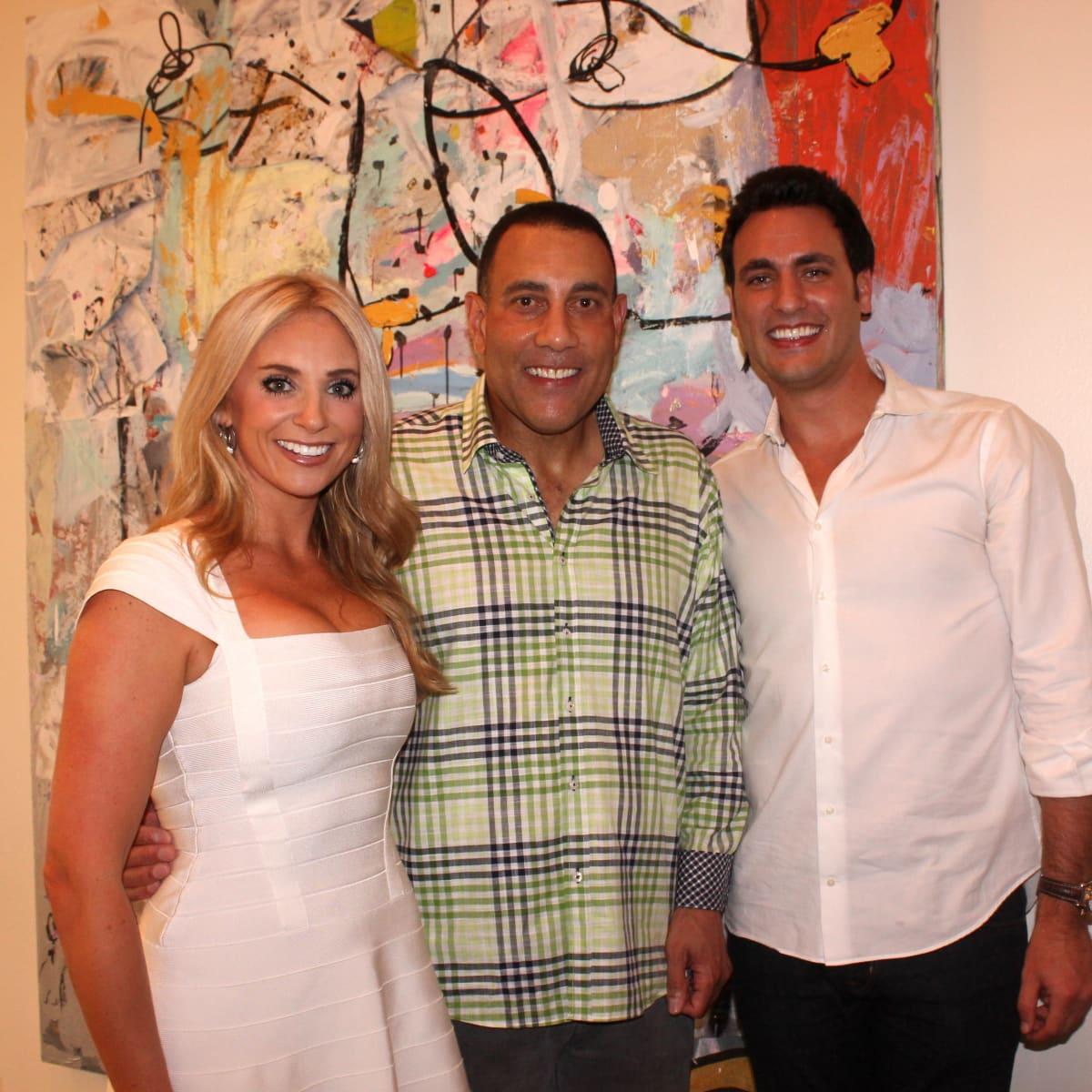Houston, Chita Johnson engagement party, July 2015, Chita Johnson, Butch Alsandor, Lane Craft