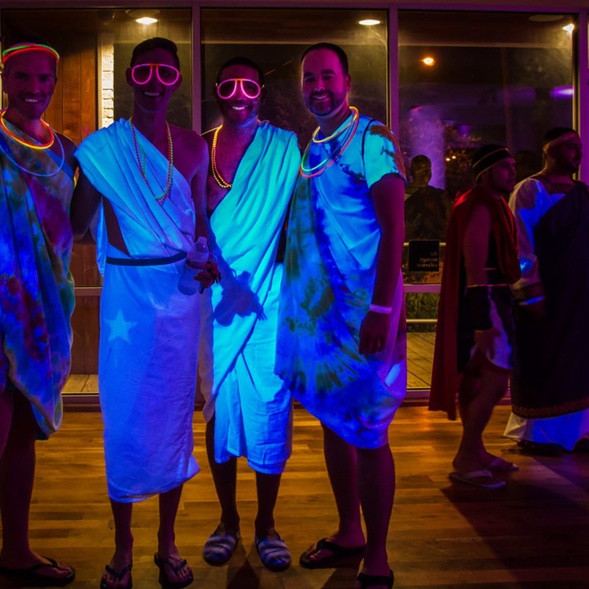 News, Bering Omega toga party, July 2015