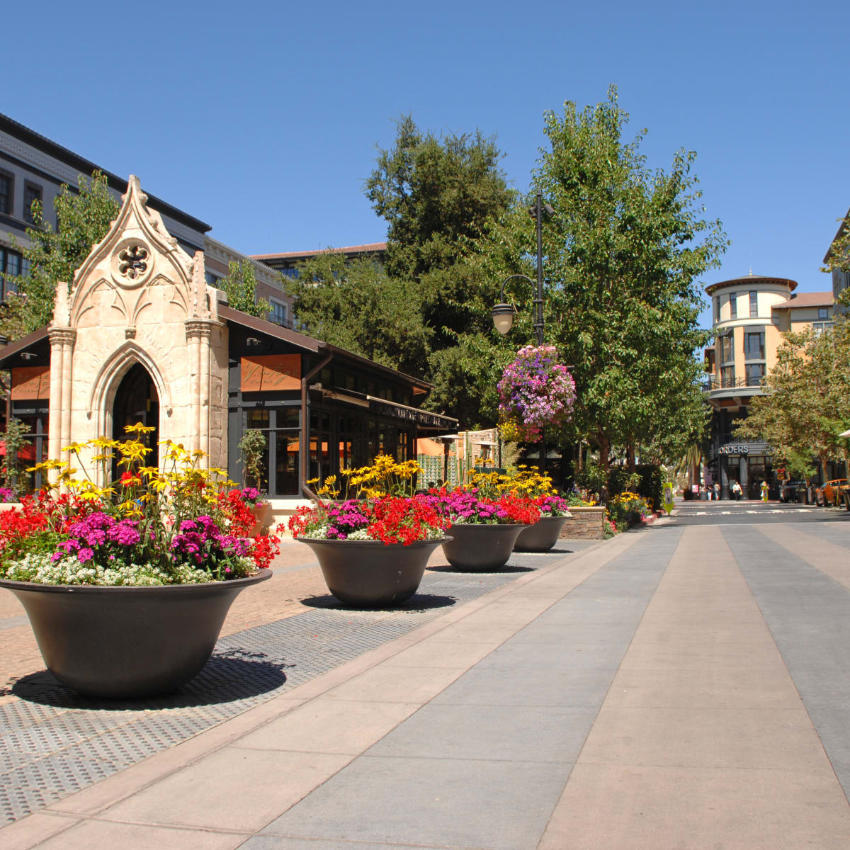 Santana Row San Jose California daytime