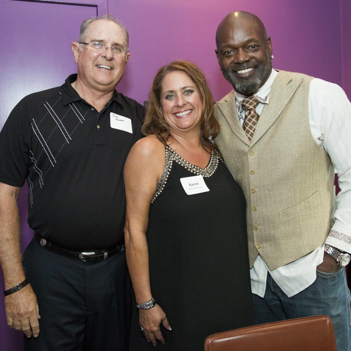 John Banner, Karen Samford, Emmitt Smith