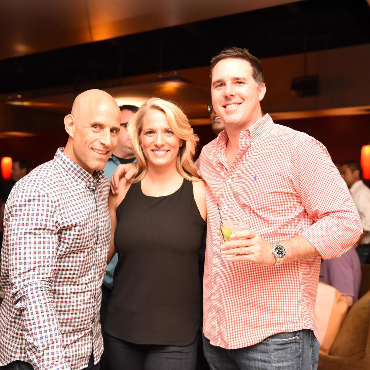 Houston, George Springer All-Star Bowling Benefit, July 2015, Russ Spielman, Dana Fennewald, Rick Rhodes