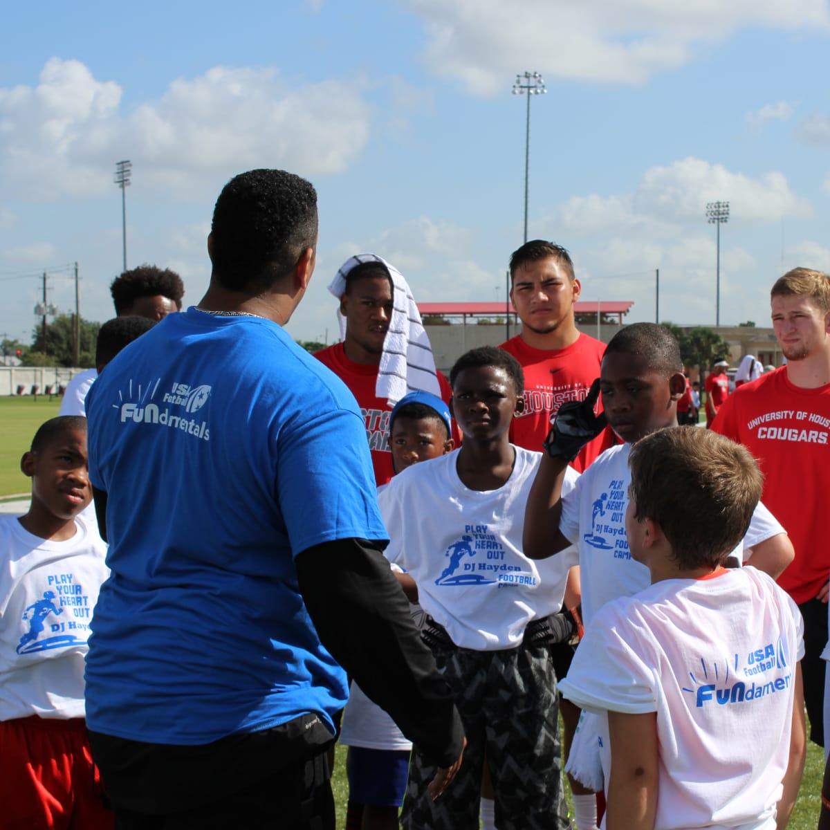 DJ Hayden Football Camp 2015 group 2