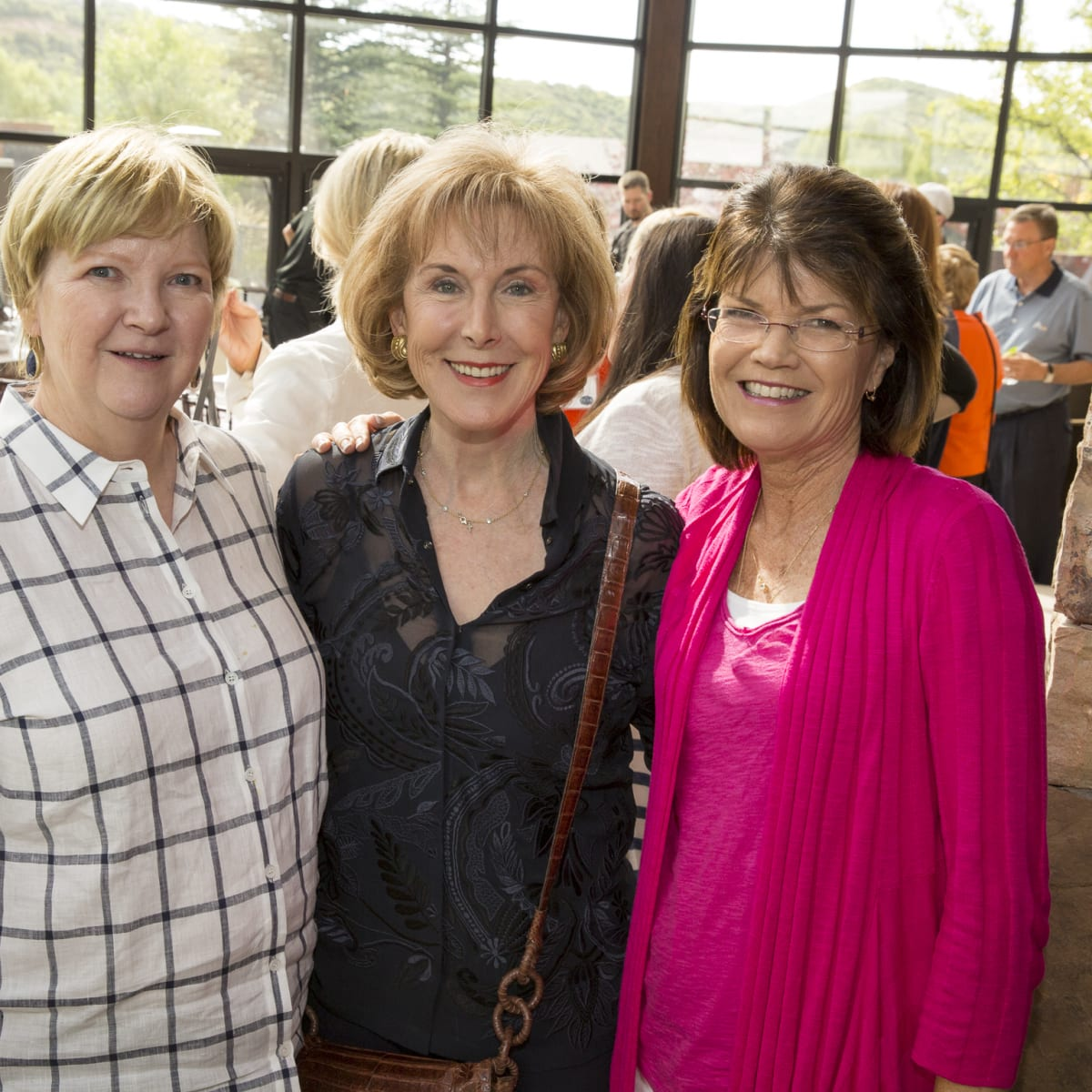 Houston Methodist in Aspen, July 2015, Leslie Blanton, Diane Ofner and Susan Coulter