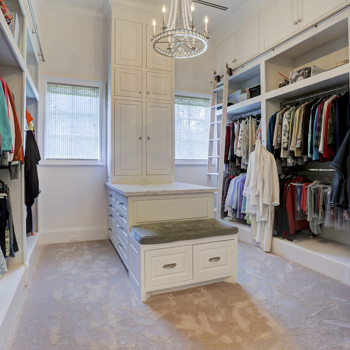 Houston, Buckingham 527, June 2015, Master closet for her