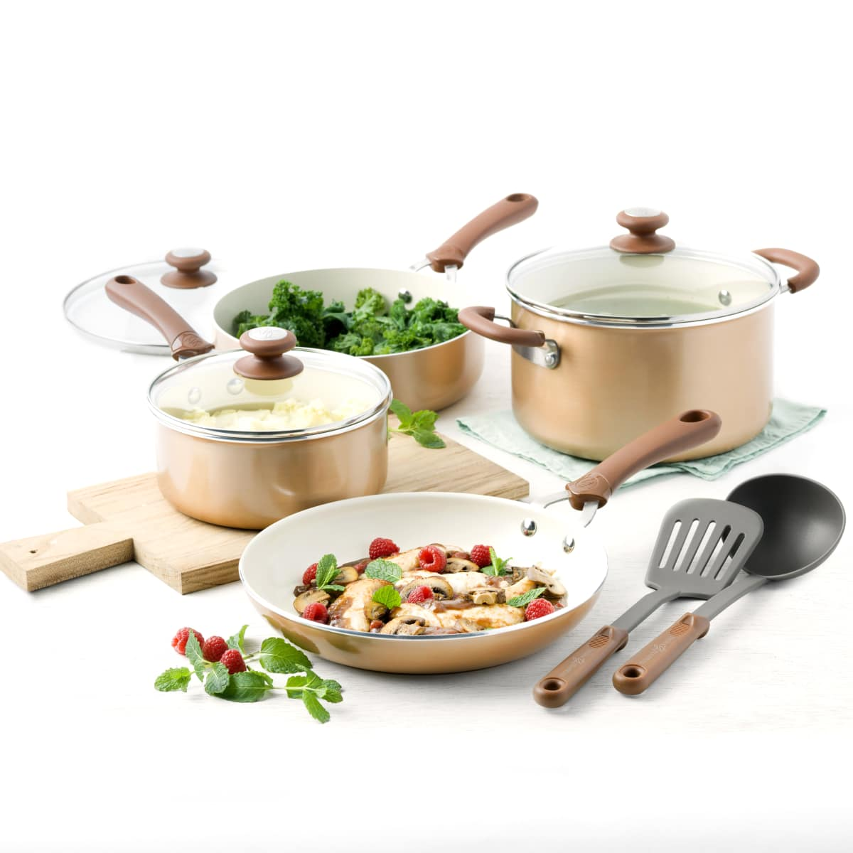 Trisha Yearwood copper cookware