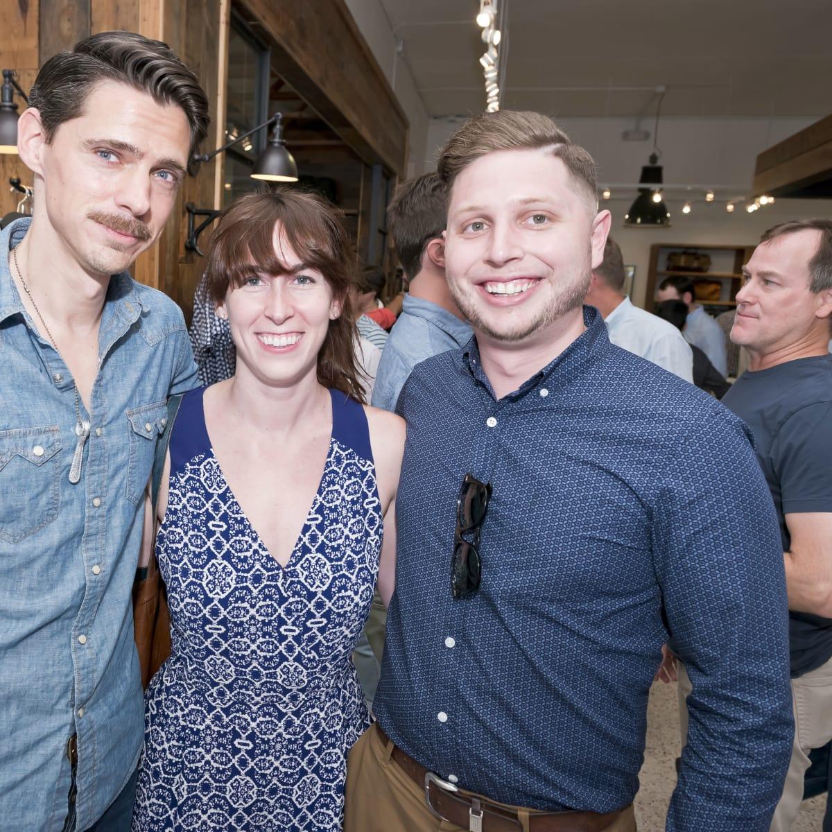 Houston, Stag Provisions opening party, June 2015, Ethan Smith, Sydnee Lucas, Kiko Velez