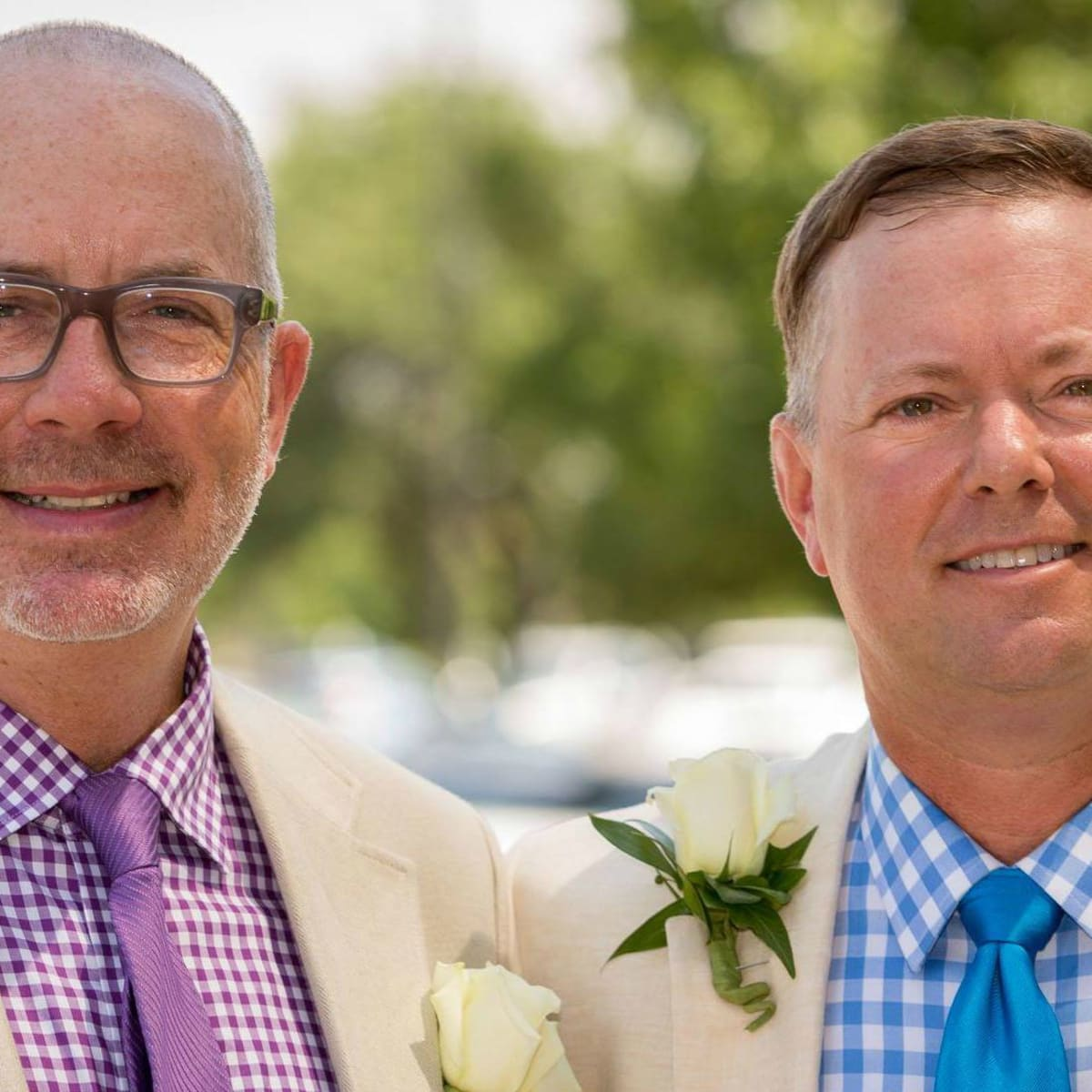 Austin gay couple married Travis County Darin Upchurch Charles Ted Burton headshot 2015