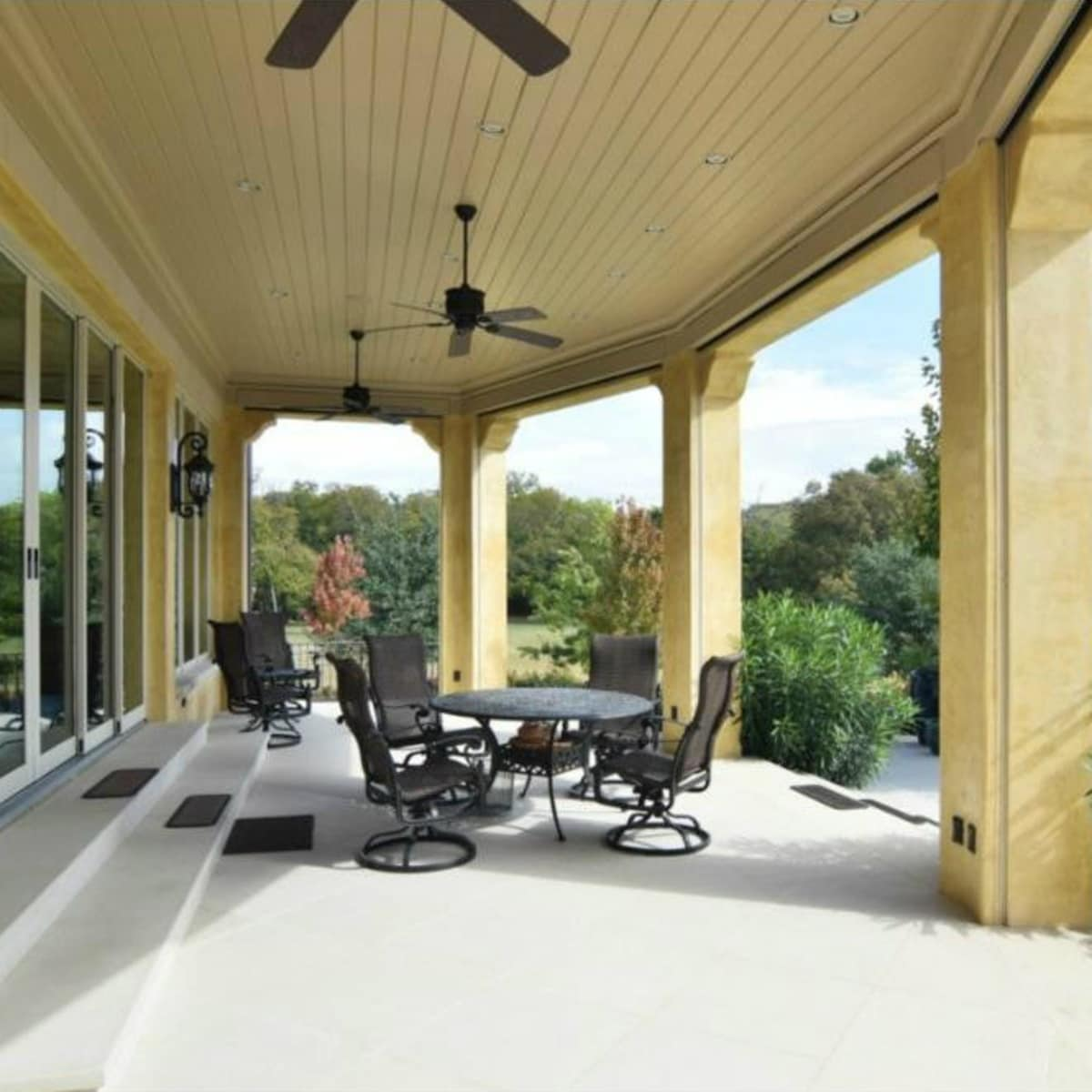 Porch at 12258 Creek Forest Dr. in Dallas