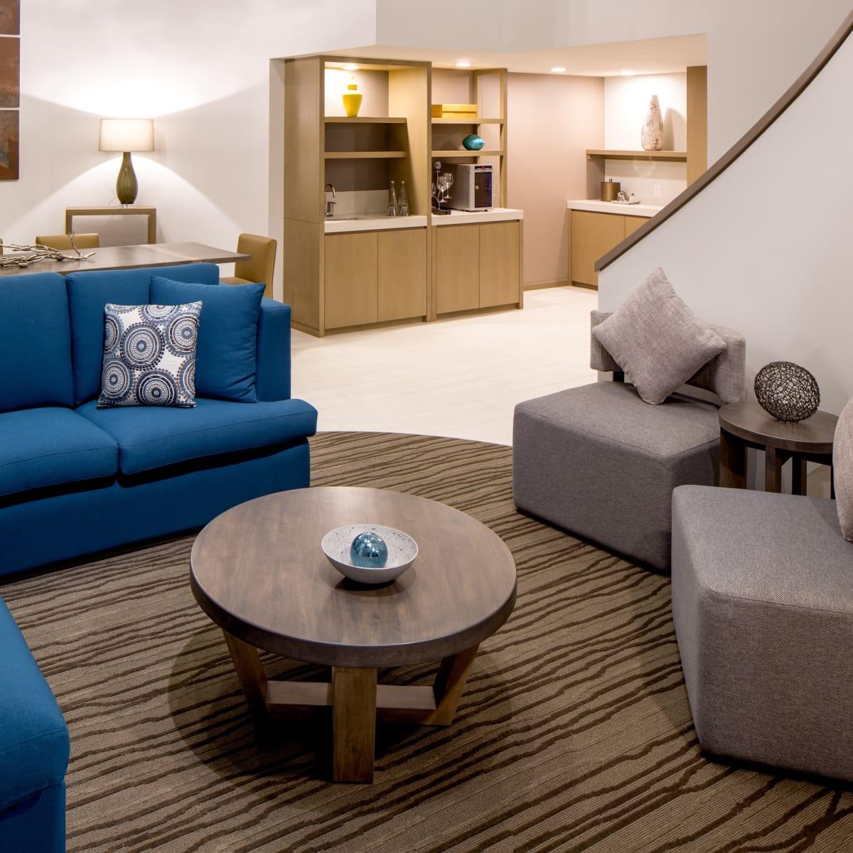 Hyatt Regency two story suites