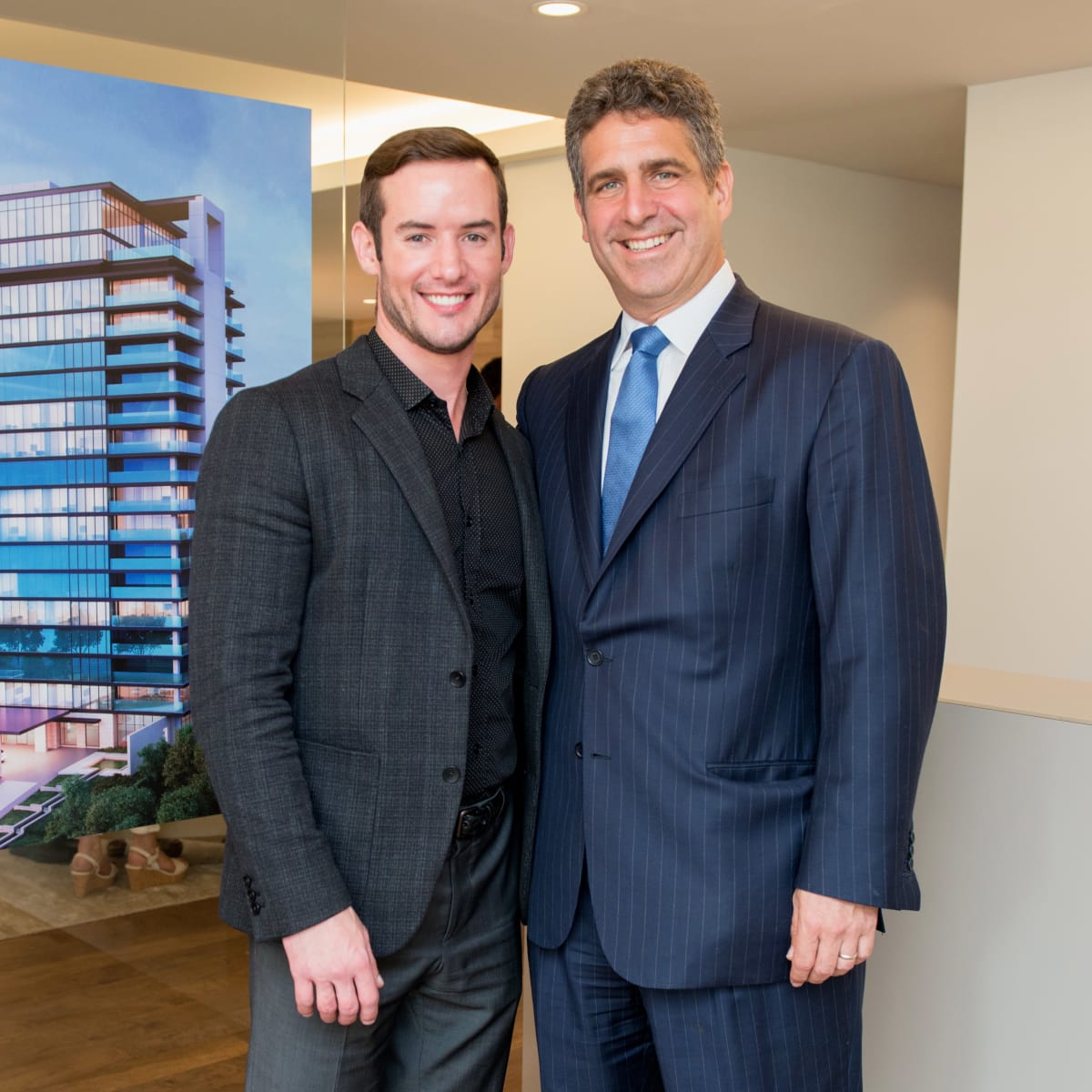Houston, The River Oaks High Rise Preview Party, June 2015, Jacob Sudhoff, Richard Leibovitch