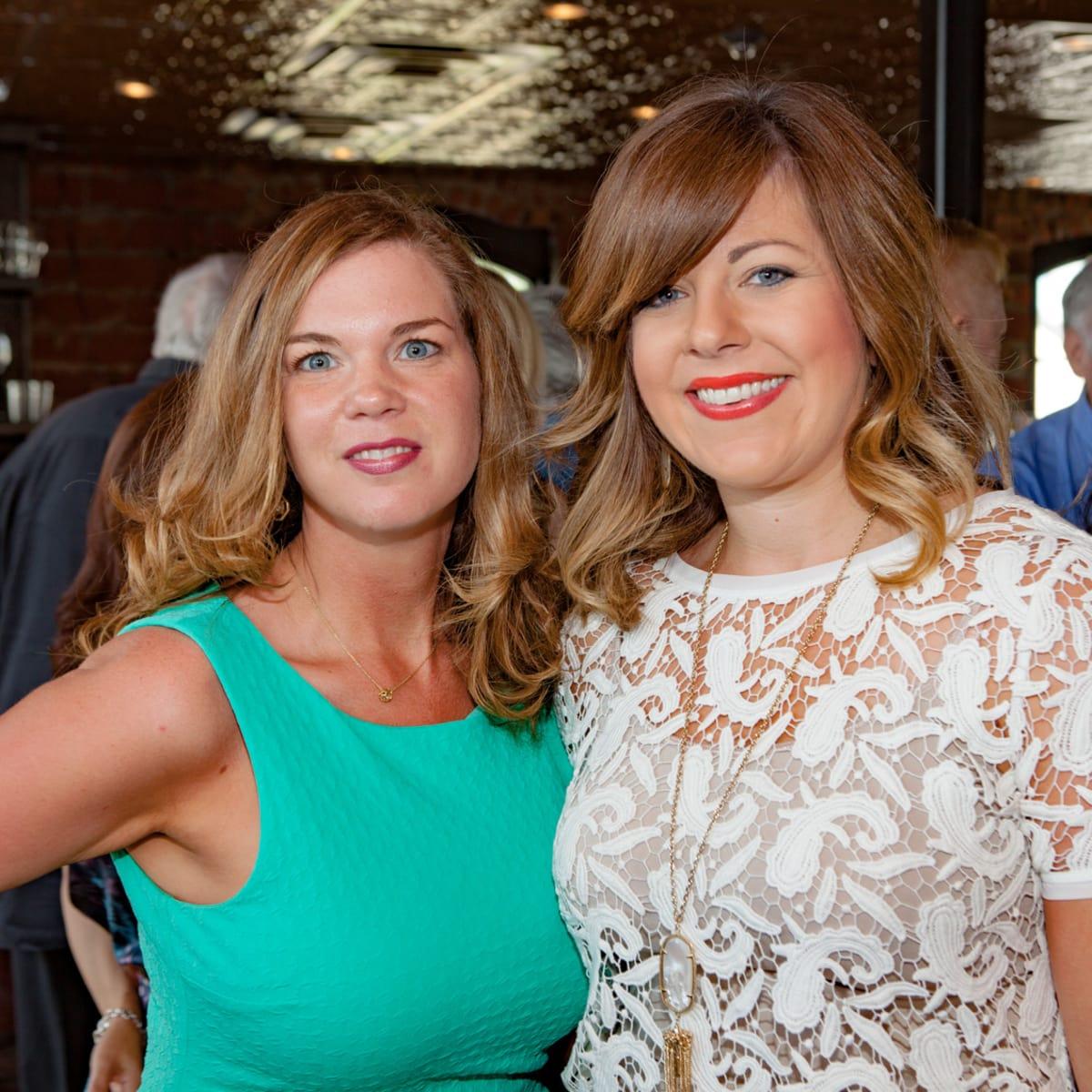 Houston, Pastorini party, June 2015, Rena Stowe, Katie Kasprzak