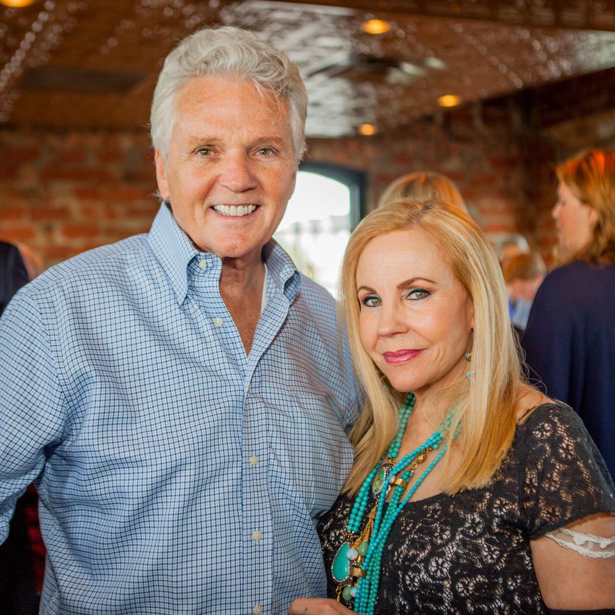 Houston, Pastorini party, June 2015, Lance Livingston, Carolyn Farb
