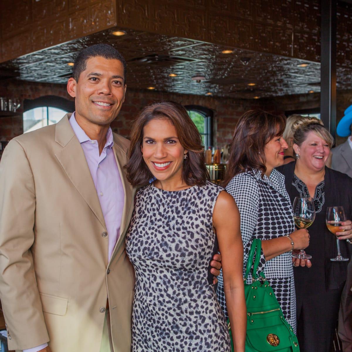 Houston, Pastorini party, June 2015, Dr. Wayne Franklin, Rachel McNeil
